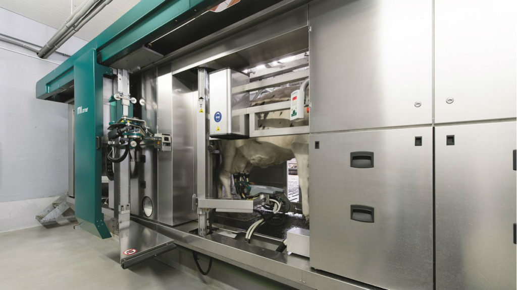 Robotic Milking Systems Lawrence S Dairy Supply Inc